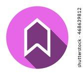arrow  icon vector.flat design.