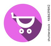 cart  icon vector. | Shutterstock .eps vector #468639842