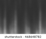 black and white pattern.... | Shutterstock .eps vector #468648782