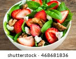 Strawberry And Spinach Salad...