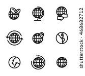 globe vector icons. simple...