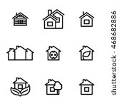 home vector icons. simple...