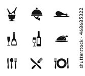 food vector icons. simple...