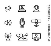 news vector icons. simple...