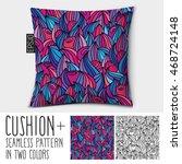 design vector pillow  cushion . ... | Shutterstock .eps vector #468724148