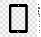 smartphone icon. phone icon....