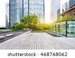 modern office buildings in... | Shutterstock . vector #468768062