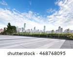 Cityscape And Skyline Of...