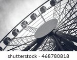 Amusement Ferris Wheel