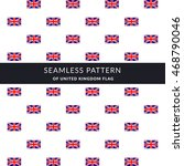 seamless pattern composed from... | Shutterstock .eps vector #468790046