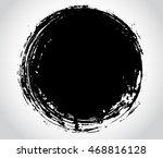 vector grunge circle.grunge... | Shutterstock .eps vector #468816128