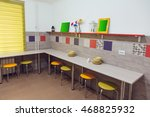 hostel interior   kitchen.... | Shutterstock . vector #468825932
