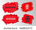 set of abstract backgrounds... | Shutterstock .eps vector #468832472