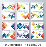 abstract colorful triangle... | Shutterstock .eps vector #468856706