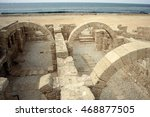Ruins Of Bathouse In Ancient ...
