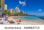 honolulu  usa   aug 4  sun... | Shutterstock . vector #468883715