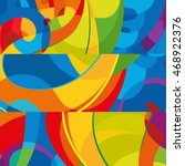 abstract colorful background.... | Shutterstock .eps vector #468922376