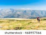 avila  spain   july 30  2016  a ... | Shutterstock . vector #468957566