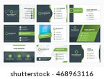 set of modern business card... | Shutterstock .eps vector #468963116