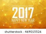 greeting card happy new year... | Shutterstock .eps vector #469015526