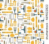 seamless pattern construction... | Shutterstock . vector #469022822