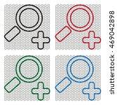 simple web line icon in vector  ... | Shutterstock .eps vector #469042898