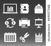 business icons set vector...