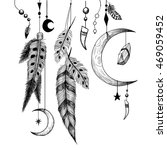 detailed mystical illustration... | Shutterstock .eps vector #469059452