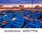 Essaouira Port In Morocco. Sho...