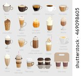 coffee set. vector illustration. | Shutterstock .eps vector #469098605