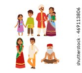 Vector Illustration Of Indian...