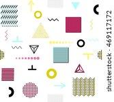 trendy geometric elements... | Shutterstock .eps vector #469117172