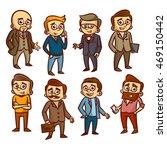men set clipart | Shutterstock .eps vector #469150442