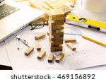 business risks in the business. ... | Shutterstock . vector #469156892