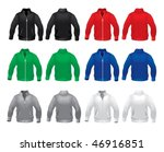 the perfect vector color jackets   Shutterstock .eps vector #46916851