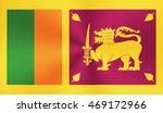 sri lanka country flag with... | Shutterstock . vector #469172966