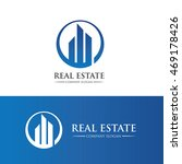 real estate logo | Shutterstock .eps vector #469178426