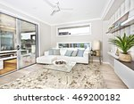 modern living room interior of... | Shutterstock . vector #469200182
