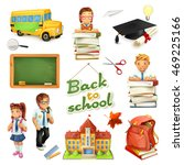 school and education. 3d vector ...