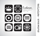 symbols of food grade metal... | Shutterstock .eps vector #469247246
