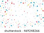 colored confetti scattered on a ... | Shutterstock .eps vector #469248266