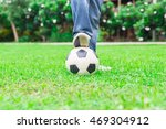 there is one person plays... | Shutterstock . vector #469304912