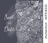 """floral card """"save the date""""... 