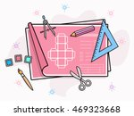 product prototype vector... | Shutterstock .eps vector #469323668