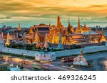 grand palace and wat phra keaw... | Shutterstock . vector #469326245
