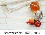 rosh hashanah  jewish new year... | Shutterstock . vector #469327832