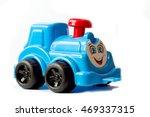 photo children's toy train... | Shutterstock . vector #469337315