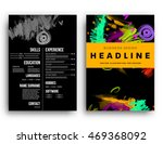 cover template with abstract...   Shutterstock .eps vector #469368092