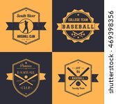 baseball club  team vintage... | Shutterstock .eps vector #469398356
