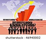 business people | Shutterstock .eps vector #46940002